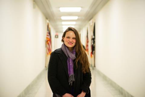 Maureen Bowling on Capitol Hill