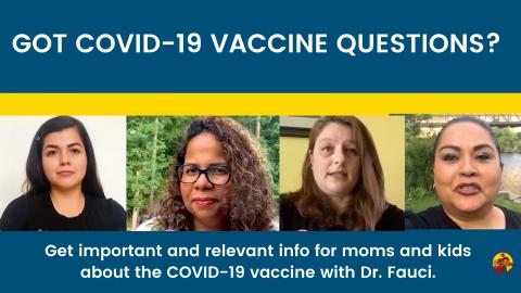 Got COVID-19 Vaccine Questions?
