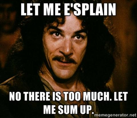 Princess Bride Inigo Montoya Let Me Sum Up graphic
