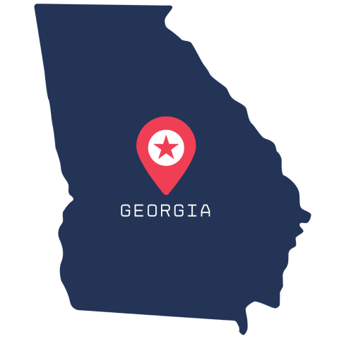 [IMAGE DESCRIPTION: A graphic image of the state of Georgia.]