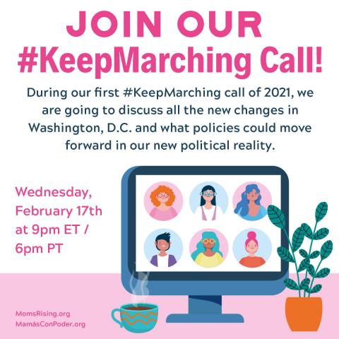 February 2021 KeepMarching call