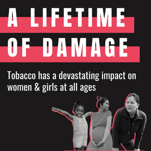 TFK Report: Tobacco's Harms on Women and Girls