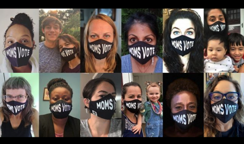 MomsVote Masks Instagram Post