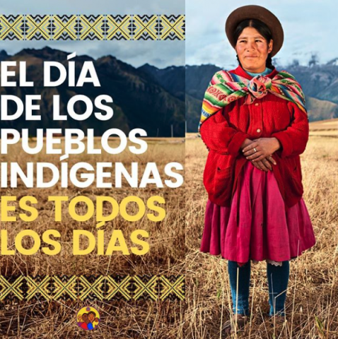 Indigenous People's Day Graphic