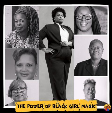 Instagram Image of Black Girl Magic featuring women of Georgia