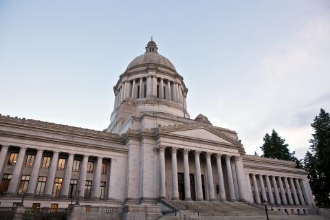 [photo of WA State Capitol building]
