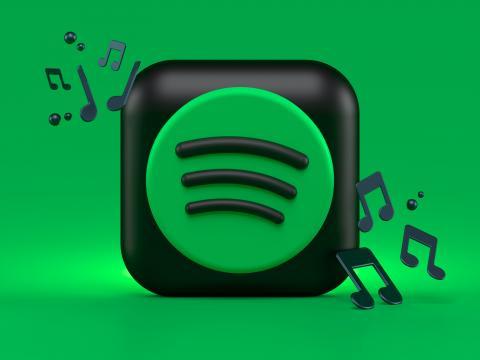 Spotify 3d icon concept