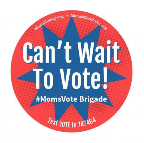 MomsVote button