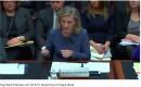 [IMAGE DESCRIPTION: A person with shoulder length blond hair and a blue jacket sits before a House committee, providing witness testimony on the need for equal pay for equal work.]