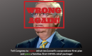 """[IMAGE DESCRIPTION: A photo of Sen. Mitch McConnell with """"WRONG AGAIN"""" stamped in red across his image.]"""
