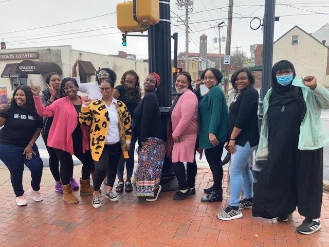 Black Mothers in Power Doula training cohort group (photo by BMIP)
