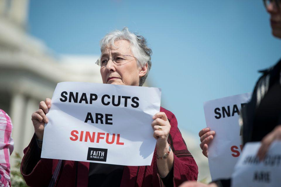 SNAP cuts are sinful