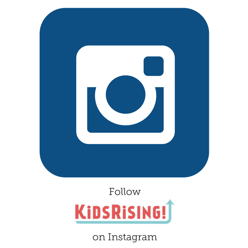 Follow KidsRising on Instagram