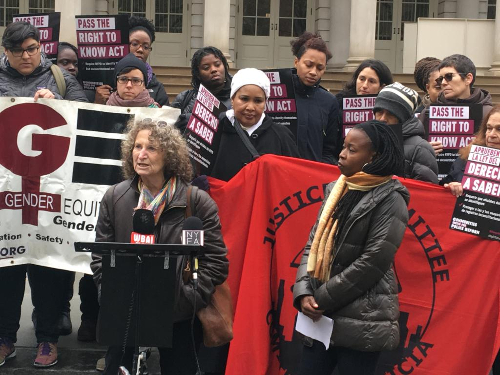 NYC City Hall: Activists Urge Lawmakers To Pass Right to