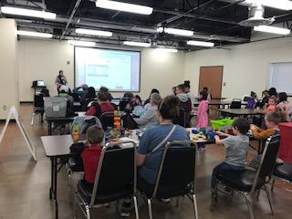 Attendees at Spokane's Family Play-In