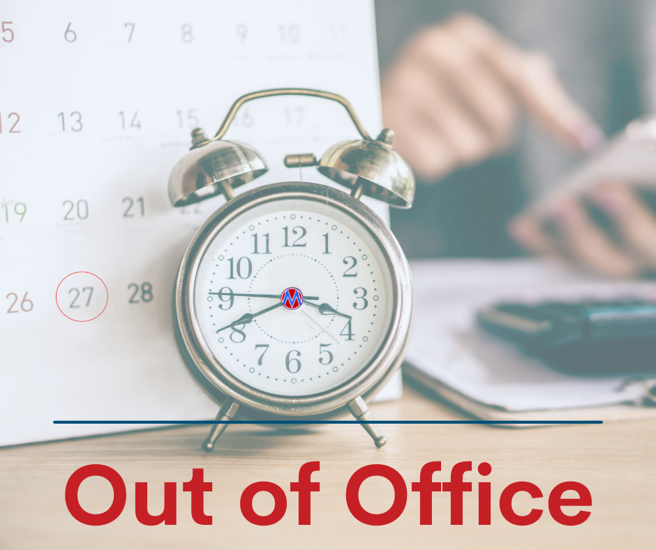 Out of Office Graphic