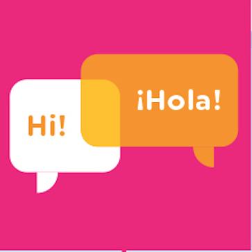 dual language dialogue bubbles