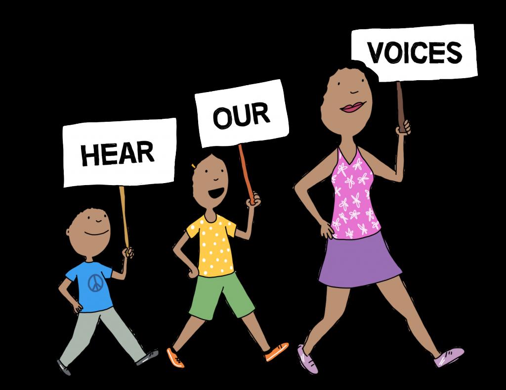 raising activists, teaching children to vote