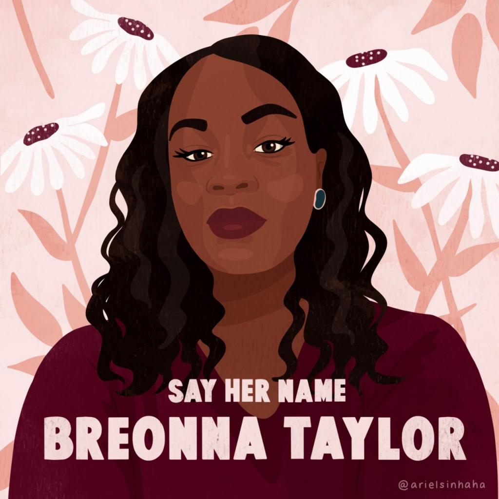 Say Her Name Breonna Taylor #BlackLivesMatter