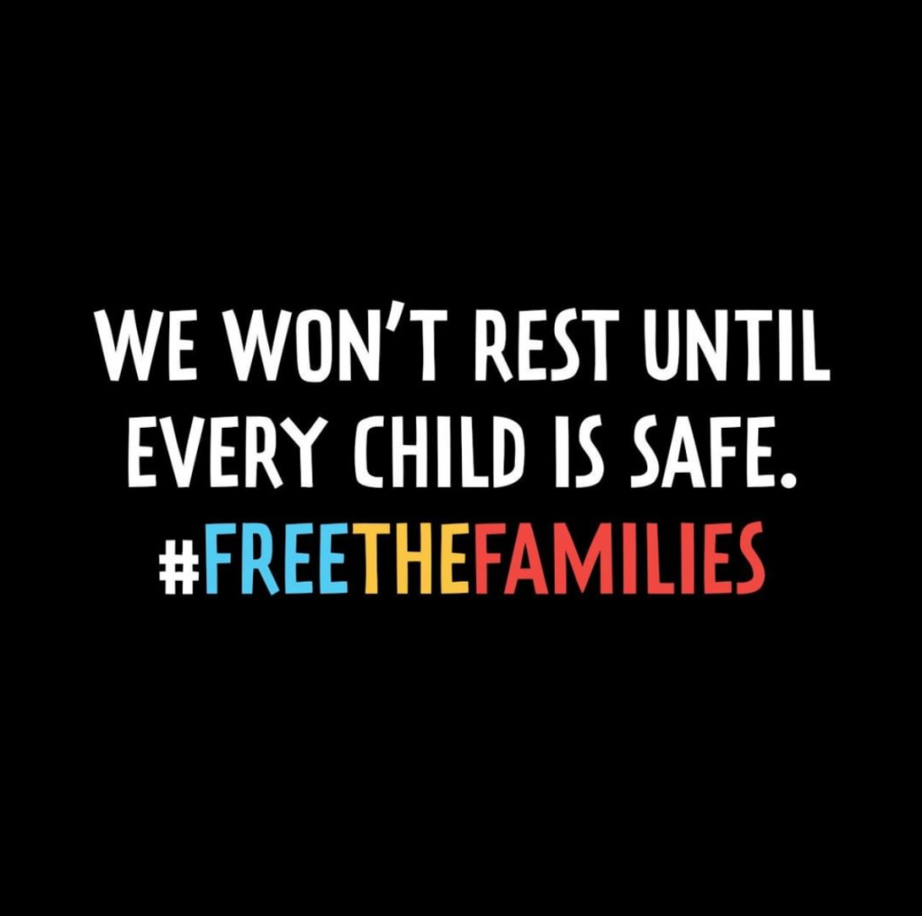 Free the Families from ICE detention centers.