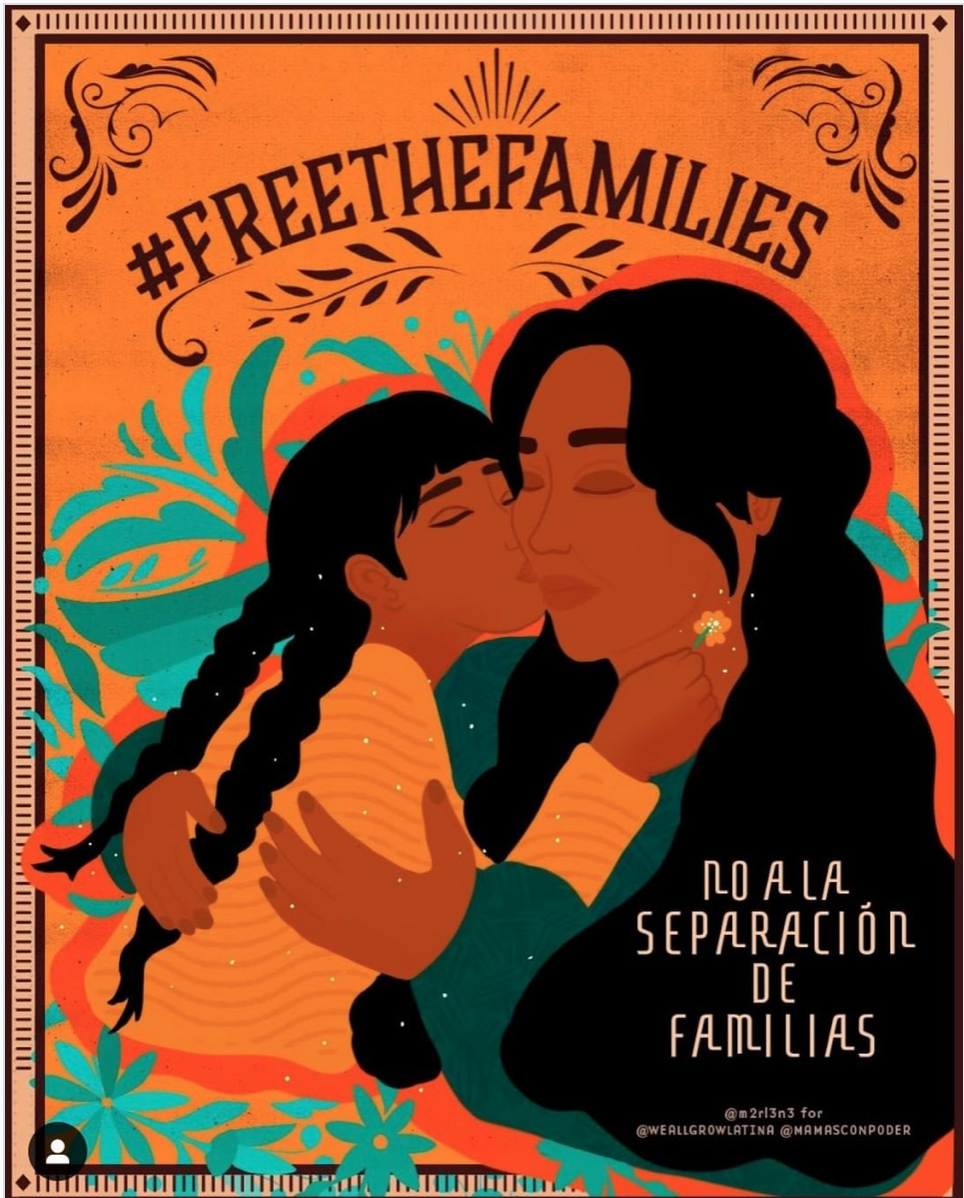 #FreeTheFamilies in ICE family detention centers