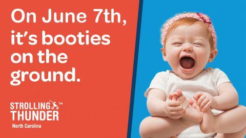 On June 7th, it's booties on the ground.