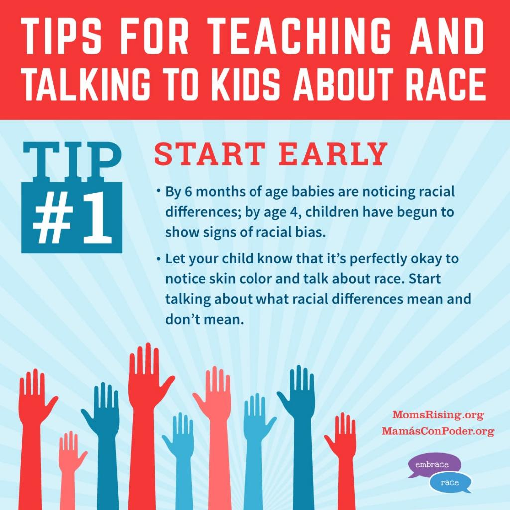 How to Talk to Your Child About Race: Tip 1 - Start Early
