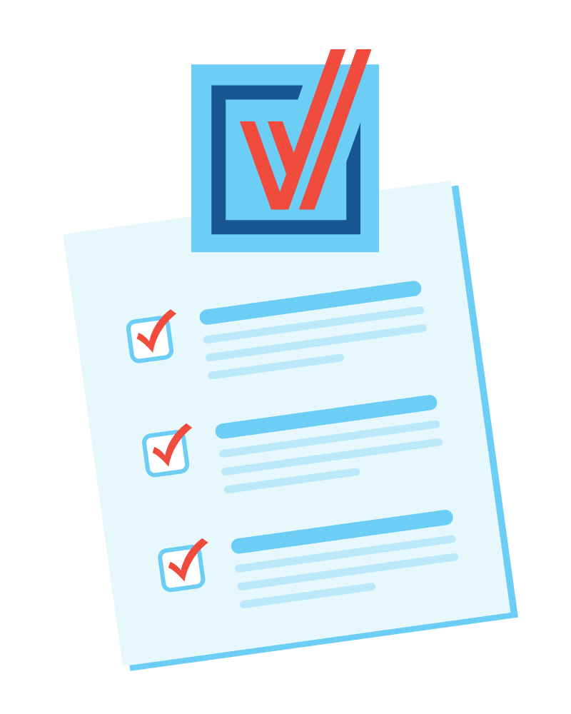 [IMAGE DESCRIPTION: A graphic image of a checklist]