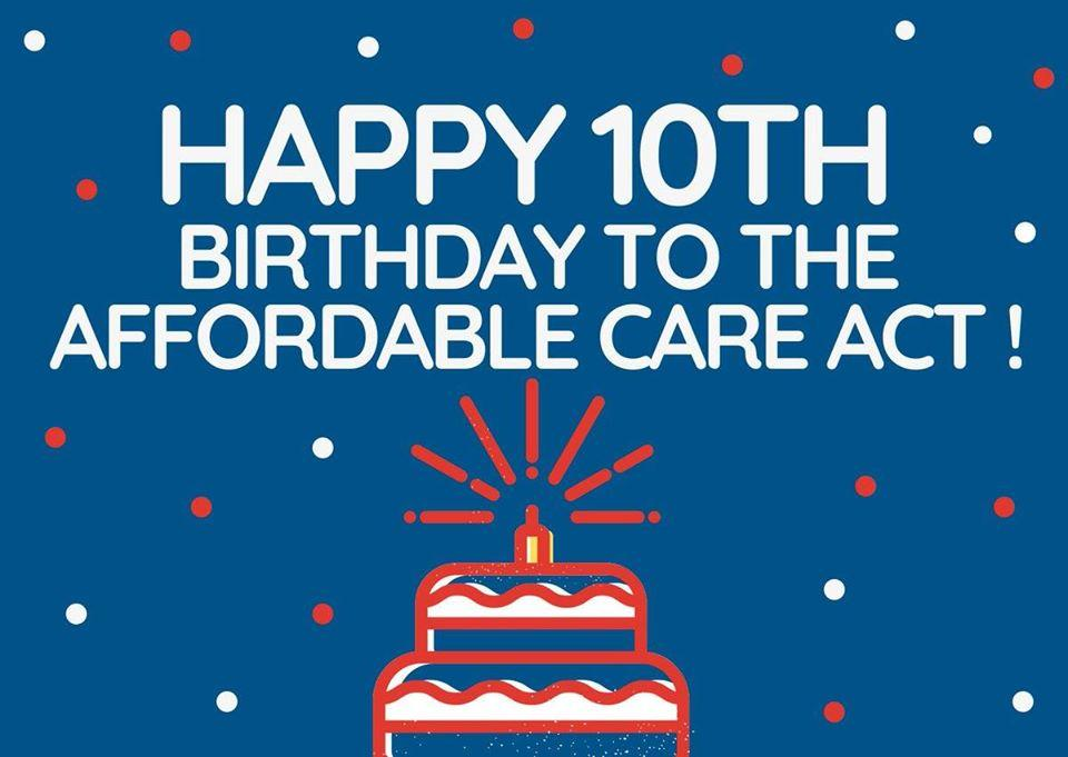 """[IMAGE DESCRIPTION: A colorful graphic that says """"Happy Birthday to the ACA!""""]"""