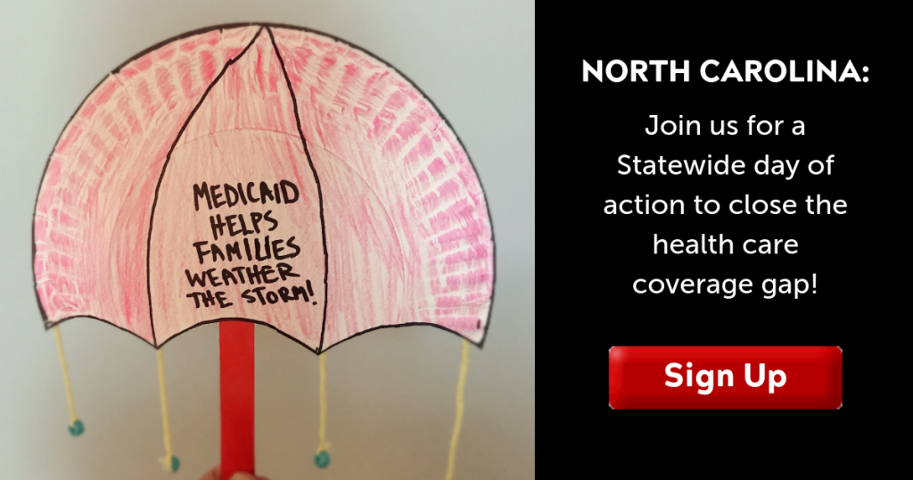 Sign up: Statewide day of action to expand Medicaid!
