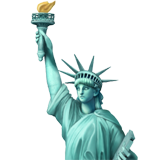[IMAGE DESCRIPTION: Emoji of the Statue of Liberty.]
