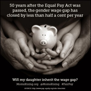 Equal Pay Hands 50 Year