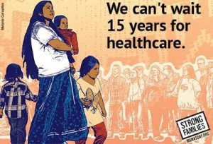 15 years is too long to wait health care immigration NLIRH petition image