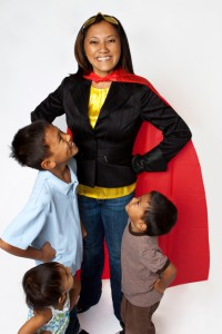 We're know you're a superhero! Put those powers to good use! Help us amplify the mom voice around healthy school foods this month!