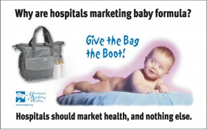 Massachusetts hospitals banned formula company discharge bags