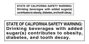 Soda Warning Label | MomsRising.org